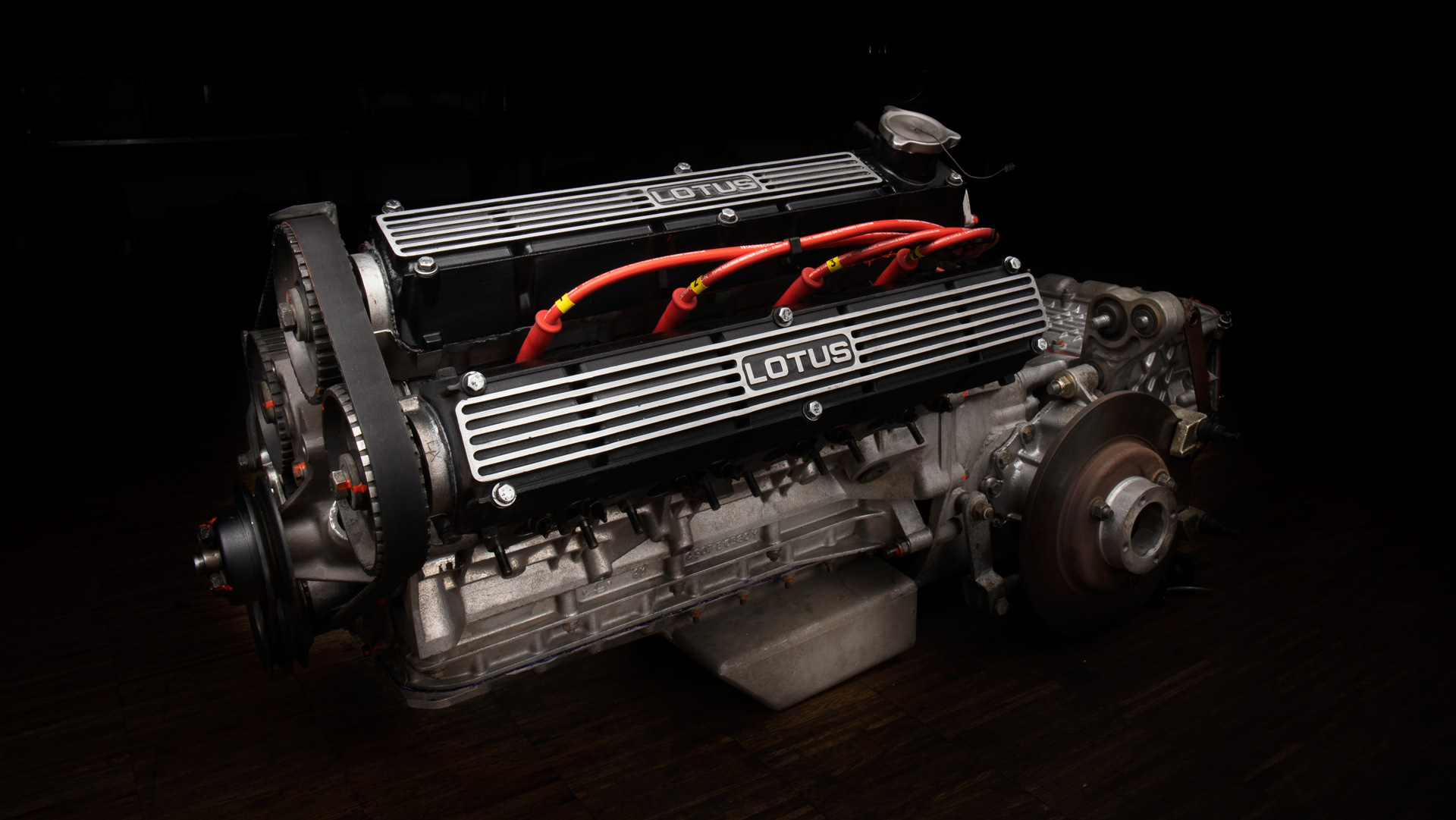 Lotus Esprit S1 Engine and Gearbox